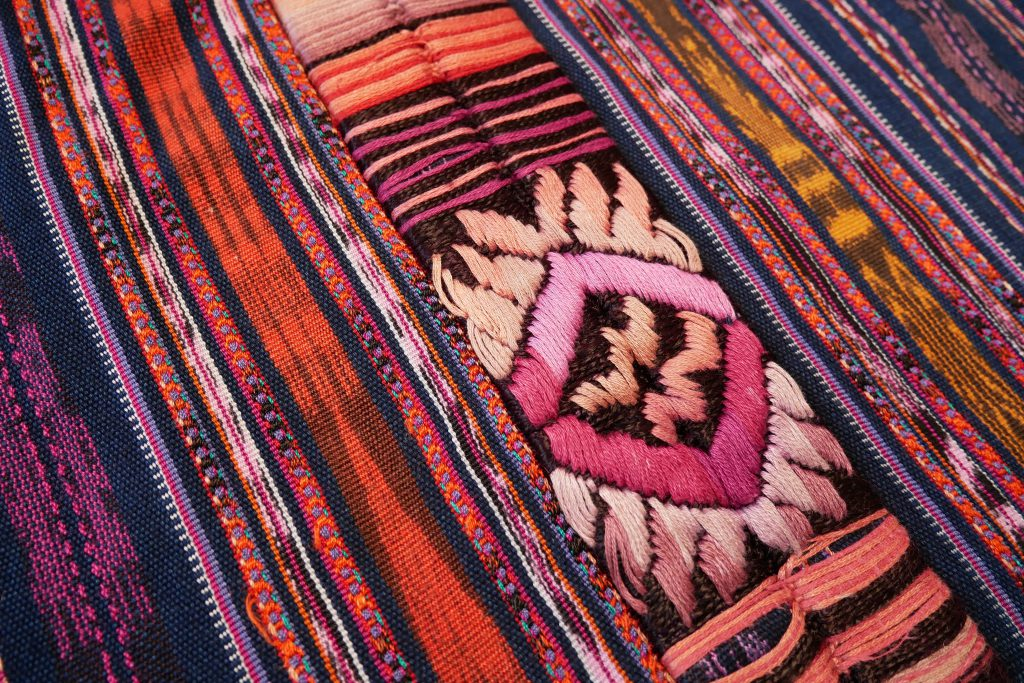 Yakaya Guatemala Stoffe Detailbild Header Chichicastenango
